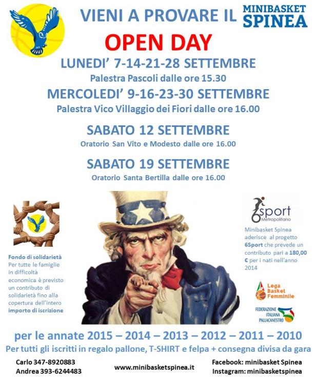 image OPEN DAY Minibasket Spinea (3231)